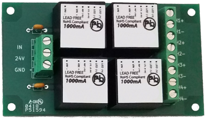 Four-Channel LED Driver
